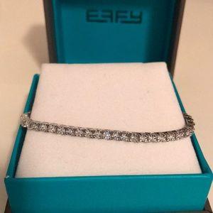 Effy 14k White Gold Diamond Tennis Bracelet